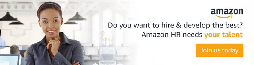 Amazon HR needs your talent