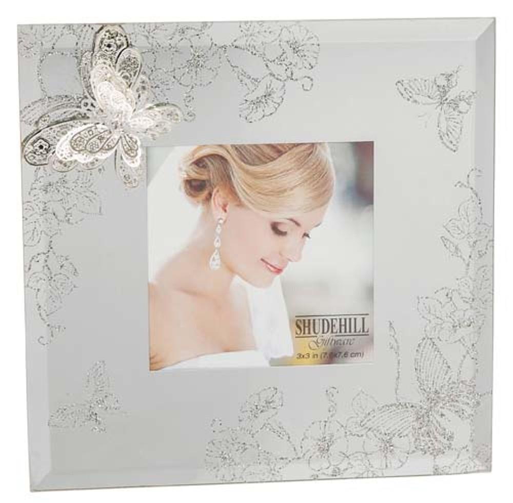 Filigree Butterfly Frame 3X3 Ref: 66330