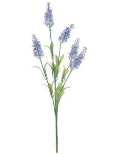 Lotus Silk Lavender Spray Pale Purple 143055