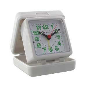 WIDDOP Quartz Travel Alarm-All White Case&Dial + B  5165W