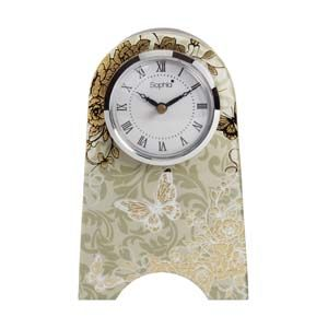 WIDDOP Sophia Gold Rose Collection Mantel Clock  647CK