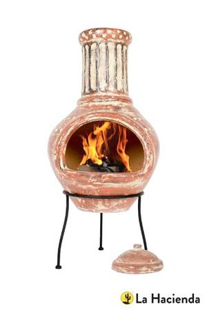 Calido Large Mo Clay Chimenea - 67136