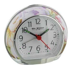 WIDDOP Alarm Clock - Flower Design  L/S/C  9501BF