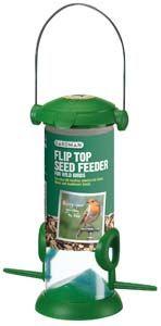 Gardman Flip Top Seed Feeder - 01234