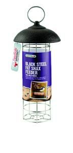 Gardman Black Steel Fat Snax Feeder - 01517
