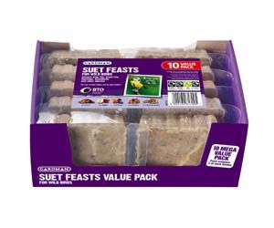 Gardman Suet Feast Value 10Pk - 04118