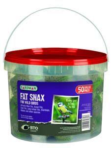 Gardman Fat Snax 50 Tub - 04186
