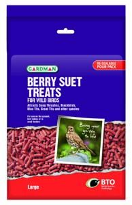 Gardman Large Berry Suet Treats - 04191