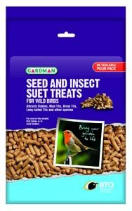 Gardman Seed & Insect Suet Treats - 04192