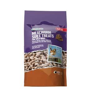 Gardman Mealworm Suet Treats 550G - 04251