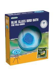 Gardman Glass Bath Blue A04374