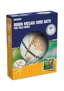 Gardman Mosaic Bath Robin A04376