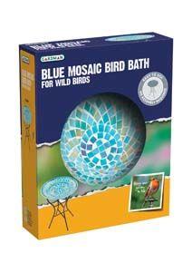 Gardman Mosaic Bath Blue A04377