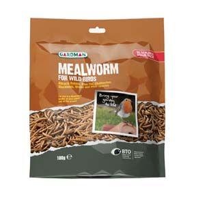 Gardman Mealworm Pouch 100G- 04526