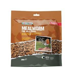 Gardman Mealworm Pouch 200G - A04527