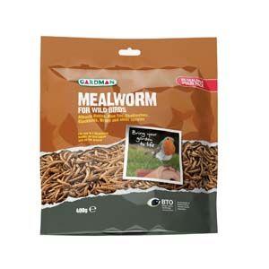 Gardman Mealworm Pouch 400G - 04528