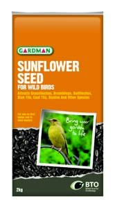 Gardman Sunflower Seed 12-75Kg - 05130