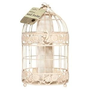 Chaplewood Antique Cream Seed Feeder Cpw0273