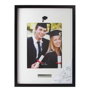 """WIDDOP Graduation Photo Frame with Engraving Plate 8"""" x 10""""  FP429"""