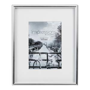 "WIDDOP Impressions Silver Plated Matt Silver Photo Frame 5"" x 7""  FS103957"