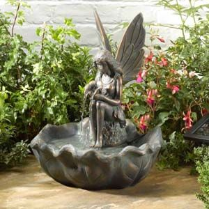 Fairy Leaf Solar Water Feature 1170341Rl