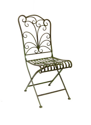 Scroll Folding Chair - Luc09