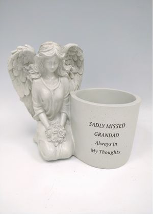 Fischhoff Angel Memorial Plant Pot DF16949