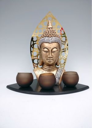 Fischhoff Buddha Candle Holder DF03763