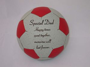 Fischhoff Dad Red Memorial Football DF14002