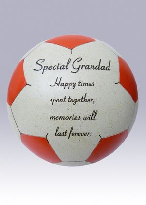 Fischhoff Grandad Red Memorial Football DF14002