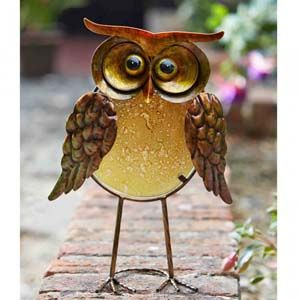 Orla Decorative Glass Owl 5030070