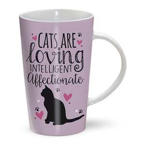 Otter House Ltd Latte Mug - Cats Are Ref: 73520
