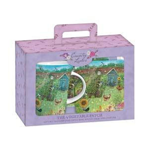 Otter House Ltd Teatime Gift Set - The Vegetable Patch Ref: 72932