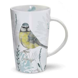 Otter House Ltd Rspb Dusk Til Dawn - Latte Mug - Blue Tit Ref: 73910