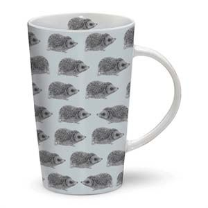 Otter House Ltd Rspb Dusk Til Dawn - Latte Mug - Hedgehog Ref: 73909