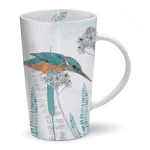 Otter House Ltd Rspb Dusk Til Dawn - Latte Mug - Kingfisher Ref: 73907