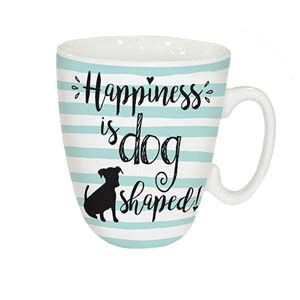 Otter House Ltd Standard Mug - Happiness Is Dog Ref: 73950