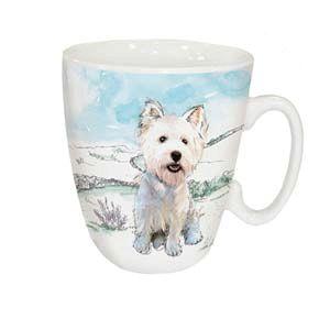 Otter House Ltd Standard Mug - West Highland White Terrier Ref: 73945