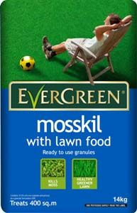 SCOTTS Evergreen Mosskill with Lawn Food 400m2