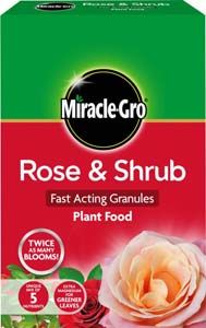 SCOTTS Miracle-Gro Rose and Shrub Plant Food Carton 3kg