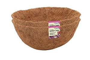 "Smart Garden 14"" Basket Coco Liner Twin Pack 6050090"
