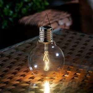 Smart Garden Eureka! Solar Vintage Lightbulb - 1080965