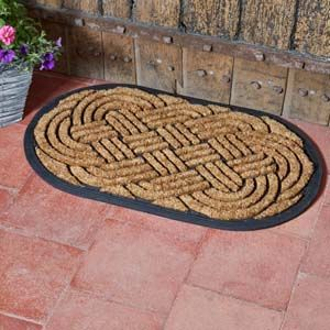 Smart Garden Heavy Duty MultiMat Celtic Knot Oval 75x45cm 5513000