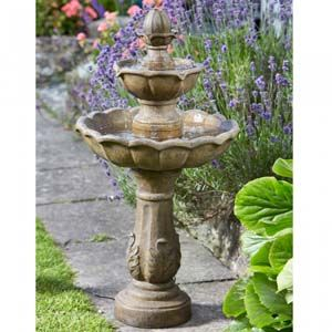 Smart Garden Kingsbury Fountain Solar Water Feature 1170950