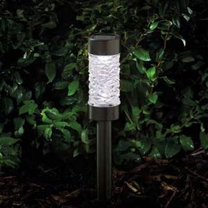 Smart Garden Montana Nickel Stake Light, 3L - 1001063