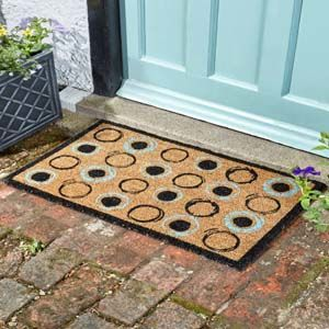 Smart Garden Retro Rings Decoir Mat 75x45cm 5511011