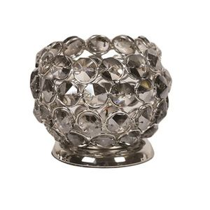 Straits Trading Co- Smoke Crystal Tealight Hld 7cm Ref: 19179