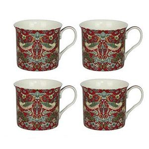 Strawberry Set 4 Mugs Lp92656