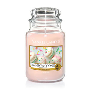 Yankee Candle Classic Large Jar Rainbow Cookie Ref: 1577121E