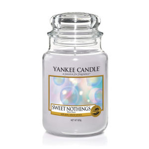Yankee Candle Classic Large Jar Sweet Nothings Ref: 1577127E